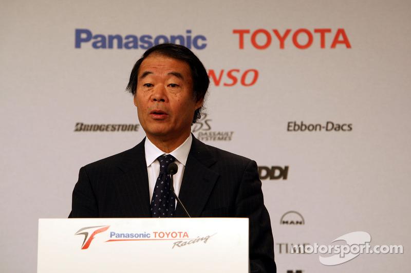 Kazou Okamoto, Toyota Motor Corporation Executive Vice President