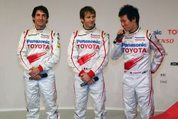 Timo Glock, Jarno Trulli ve Kamui Kobayashi