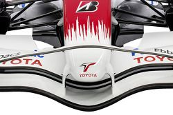 Detail of the new Toyota TF108