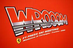 Wrooom 2008 Ferrari Ski Press Meeting logo