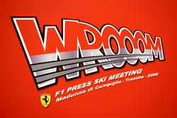 Wrooom 2008 Ferrari Ski Press Meeting logo