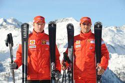 Kimi Raikkonen ve Felipe Massa