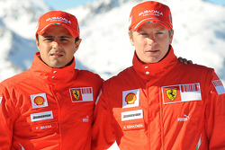 Felipe Massa and Kimi Raikkonen