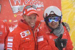 Casey Stoner ve Felipe Massa