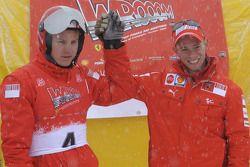 Kimi Raikkonen ve Casey Stoner