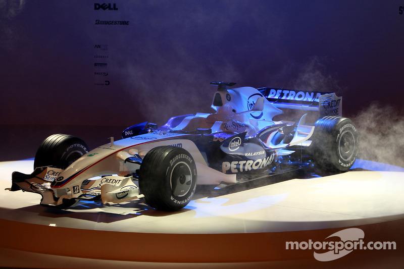 yeni BMW Sauber F3.08 is presented