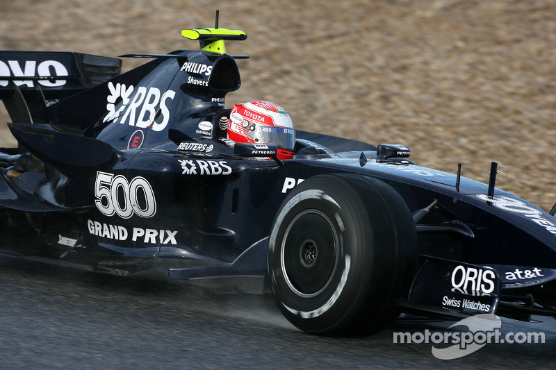 Kazuki Nakajima, Williams F1 Team, FW28 Concept car