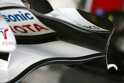 Toyota Racing, TF108, detay