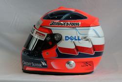 Helmet, Robert Kubica