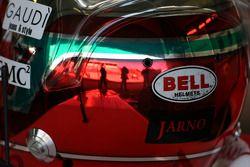 The, kask, Jarno Trulli, Toyota Racing