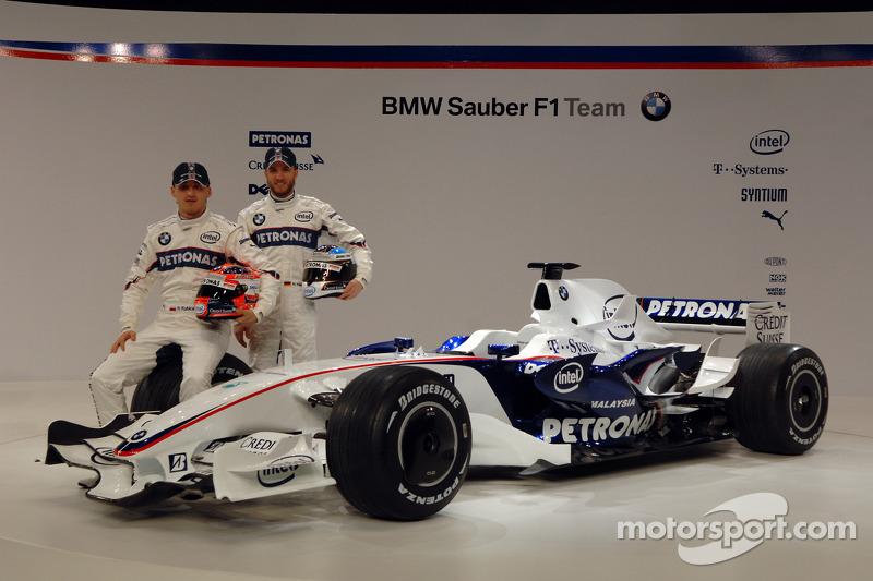 2008: BMW-Sauber F1.08