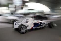 Nick Heidfeld pilote la BMW Sauber F1.08
