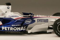 Detail of the new BMW Sauber F1.08