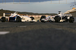 The Formula BMW FB02 and the BMW Sauber F1.08