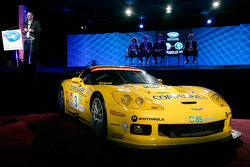Chevrolet General Manager Ed Peper announces the championship-winning Corvette Racing team will use E85 ethanol fuel in the upcoming American Le Mans Series