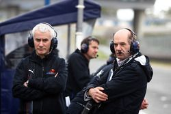 Geoff Willis, Red Bull Racing, Teknik Direktörü ve Adrian Newey, Red Bull Racing, Teknik Direktörü
