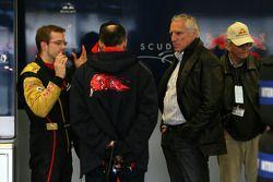Dietrich Mateschitz, dueño de Red Bull, Sebastien Bourdais, Scuderia Toro Rosso, Franz Tost, Scuderi