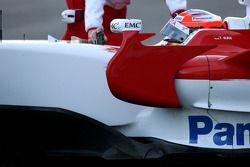 Timo Glock, Toyota F1 Team, TF108, detay