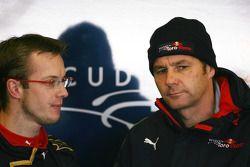 Sebastien Bourdais, Scuderia Toro Rosso, Gerhard Berger, Scuderia Toro Rosso, 50% Team Co Owner