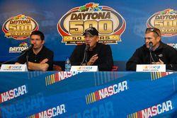 Patrick Carpentier, Dale Jarrett and Bobby Labonte