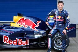 Mark Webber ve yeni Red Bull RB4