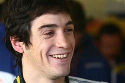 Алвару Парент проводит тесты для команды Renault F1