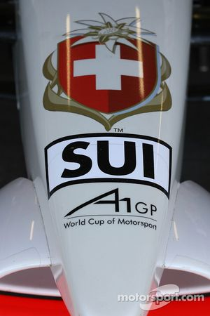 A1 Team Switzerland nose cone