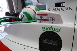 Chris Alajajian, driver of A1 Team Lebanon biofuel