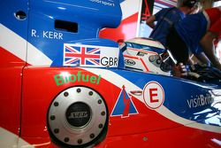 Robbie Kerr, driver of A1 Team Great Britain on biofuel