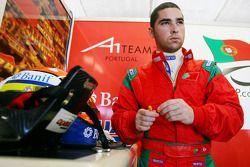 Frederico Duarte, driver of A1 Team Portugal