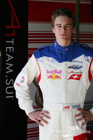 Tom Dilman, driver of A1 Team Switzerland
