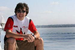 Robert Wickens, driver of A1 Team Canada