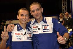 Jorge Lorenzo und Valentino Rossi