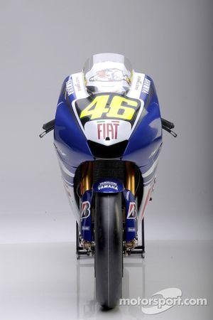 Мотоцикл The Yamaha YZR-M1