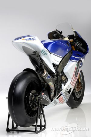 La Yamaha YZR-M1 de 2008