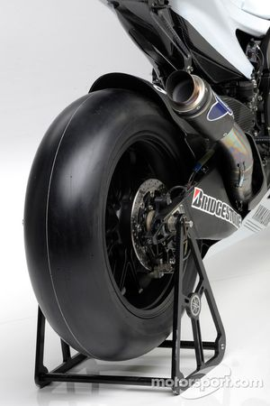 Detail of the Yamaha YZR-M1