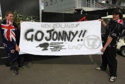 A1 Team New Zealand, fans