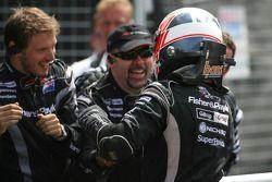 Race winner Jonny Reid