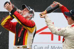 Podium: race winner Christian Vietoris
