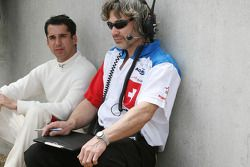 James Robinson and Neel Jani, driver of A1 Team Switzerland