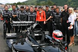 A1 Team New Zealand and Helen Clark, Prime Minister of New Zealand