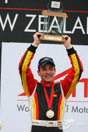 Podium: race winner Christian Vietoris