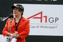 Helen Clark, Prime Minister of New Zealand