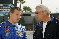 Michael McDowell and Dale Jarrett