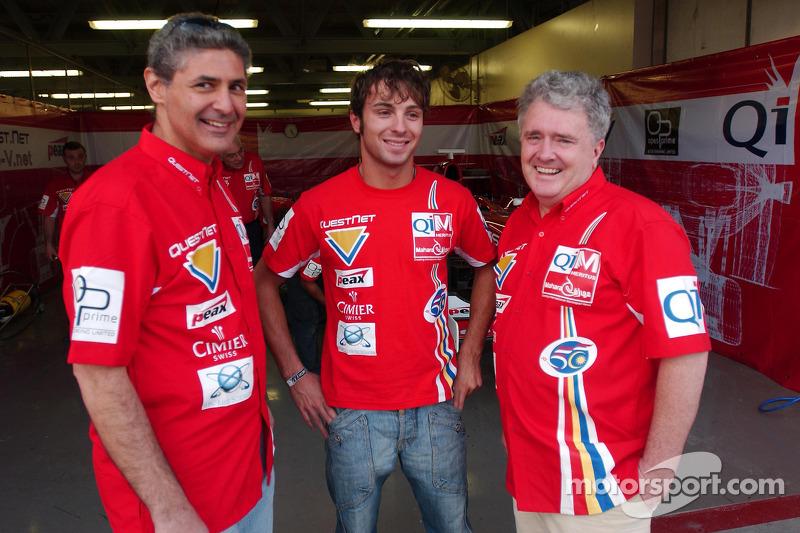 Luca Filippi with Qi-Meritus.Mahara team members