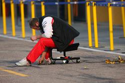 Toyota F1 Team mechanic