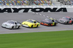 Erik Darnell, Tony Raines, Marcos Ambrose and Kelly Bires
