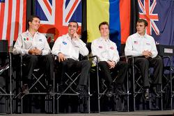 Chip Ganassi Racing with Felix Sabates: Salvador Duran, Dario Franchitti, Alex Lloyd and Bryan Clauson