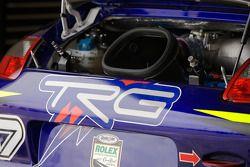 Détail de la Porsche GT3 Cup TRG