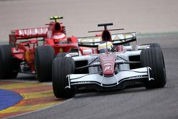 Giancarlo Fisichella, Force India F1 Team, Kimi Raikkonen, Scuderia Ferrari, F2008